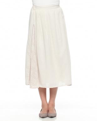 OR1 インド綿・サイドレーススカートを見る