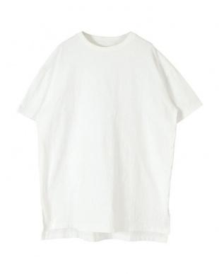 オフホワイト オーバーサイズコットンTシャツを見る