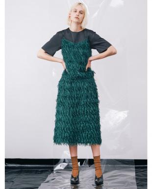 ダークグリーン ロングフリンジIQスカート ELENDEEKを見る