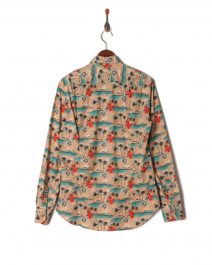 009 PALMS AND FISHES SHIRTを見る