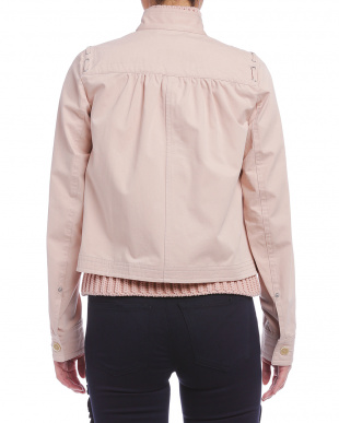 ピンクベージュ ハトメコード デザインジャケットを見る