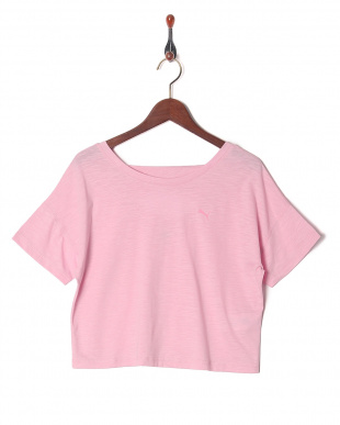 PALE PINK HEATHER ツイスト イット Tシャツを見る