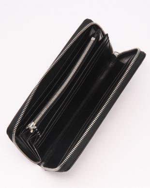 BK(ブラック) バッファローレザー 本革 ラウンドタイプ 長財布を見る