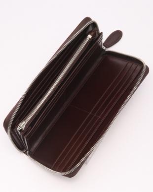 DBR(ダークブラウン) バッファローレザー 本革 ラウンドタイプ 長財布を見る