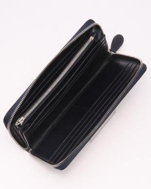 NV(ネイビー) バッファローレザー 本革 ラウンドタイプ 長財布を見る