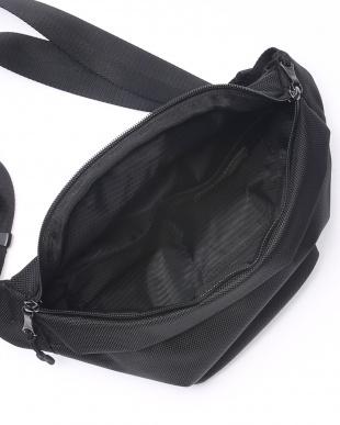 BK(ブラック) ウエストバッグ ワンショルダーバッグ 1680デニールポリエステルを見る