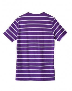 パ-プル クルーネックTシャツを見る