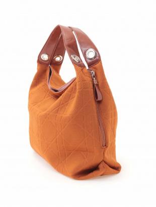 オレンジ×ブラウン 【2WAY】キルティングデザインバッグ MK MICHEL KLEIN BAGを見る