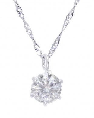 PT プラチナ 天然ダイヤモンド 0.3ct 6本爪ネックレス 鑑別書付 & Pt900 0.2ct スタッドピアス[2点合計0.5ct]を見る