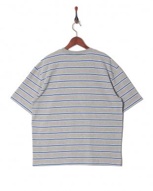GRAY マルチボーダーTシャツを見る