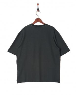 BLACK ダブルフェイスポケTシャツを見る