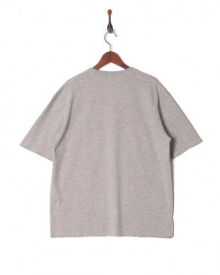 GRAY ダブルフェイスポケTシャツを見る