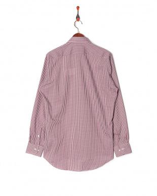 ピンク系 ワイシャツ 長袖 標準体 綿100% 襟型ボタンダウンを見る