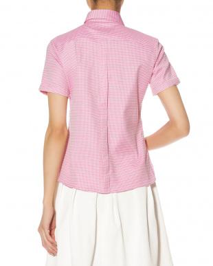 ピンク  スクエアドビー 半袖シャツを見る