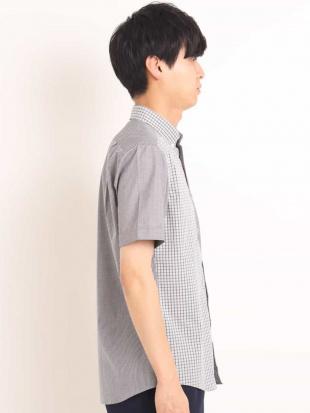 ブルー チェッククレイジーキリカエシャツ[WEB限定サイズ] a.v.v HOMMEを見る