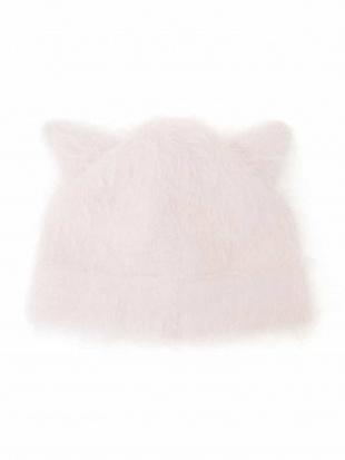 ピンク [KIDS]シャギー猫耳ニットワッチ a.v.v bout de chouを見る