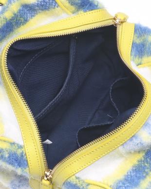 YELLOW/BLUE ショルダー付き手提げバッグを見る
