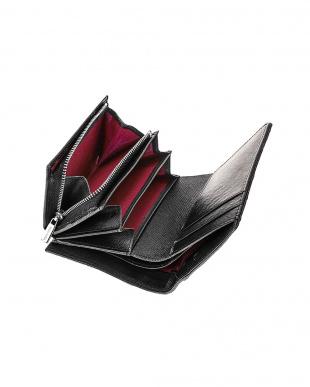 レッド/ブラック 二つ折り小銭入れ付き財布を見る