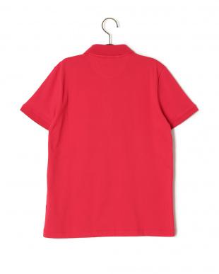 レッド ワンポイント 半袖ポロシャツを見る