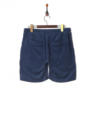 navy Pile fabric Shortsを見る