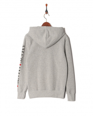top gray parody zip hoodieを見る