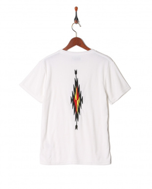 white BS embroidery Pile fabric T-shirtを見る