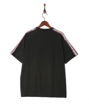black Oversize Logoline T-shirtを見る