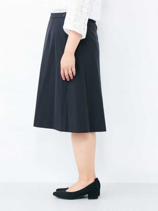 ブラック 【大きいサイズ】万能!仕事着にも使える膝丈スカート eur3を見る