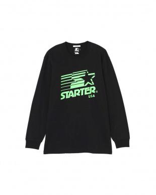 ブラック ロゴロングスリーブTシャツ R/B(オリジナル)を見る