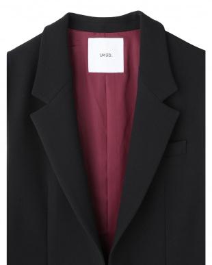 ブラック ノースリーブジャケット UN3D.を見る