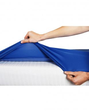 マリンブルー 防水透湿 おねしょシーツ シングルベッド用 (200×100cm)を見る