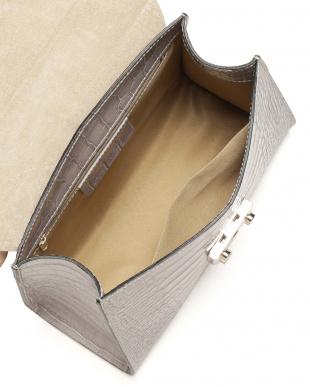 グレー カーフスキンクロコPTケリー型BAG(スカーフ付き)を見る