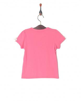 ピンク 飾りテープTシャツを見る