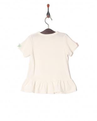 ホワイト×カラフルリボン リボンTシャツを見る