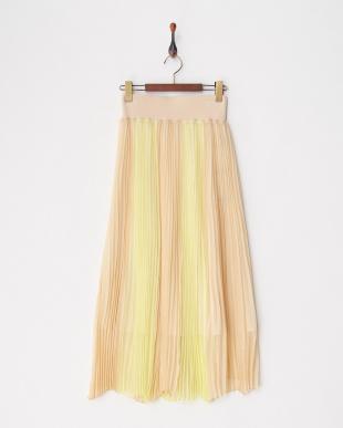 BEIGE シルクプリーツスカートを見る