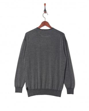 17 Scye天竺クルーセーターを見る
