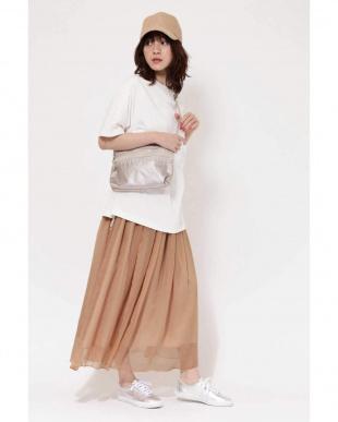 ホワイト Tシャツ&スカートセットアップ R/B(オリジナル)を見る