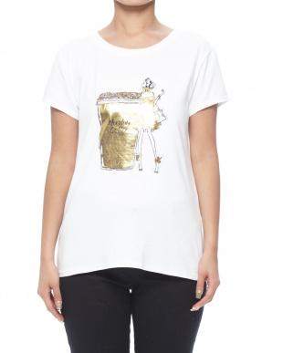 ラテ/ホワイト Tシャツを見る