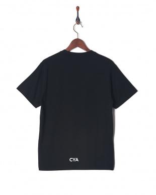 ブラック CYA/TS PLAN クルーネック半袖Tを見る