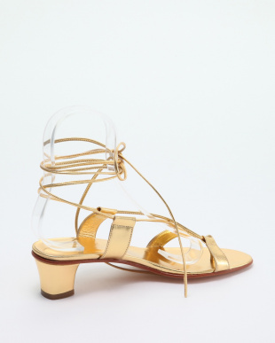 090 ゴ-ルド *MARTINIANO GOLD LACE UP SANDALを見る