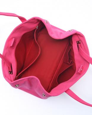 ピンク トートバッグを見る