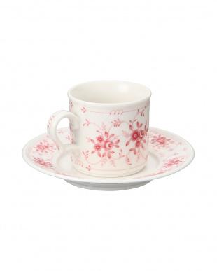 マロンローズ コーヒー碗皿を見る