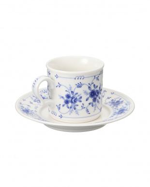 ブルーローズ コーヒー碗皿を見る