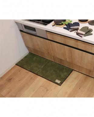 グリーン  S&Sキッチンマット 45×120cmを見る