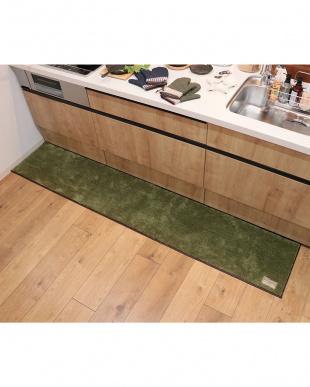 グリーン  S&Sキッチンマット 45×240cmを見る