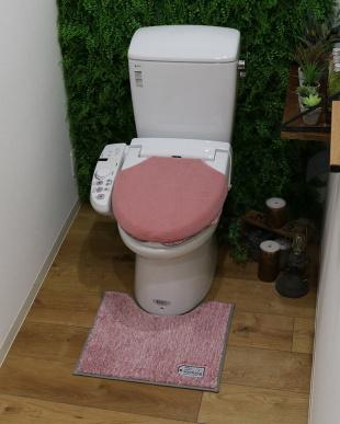 ピンク  TOWARDトイレマット Sを見る