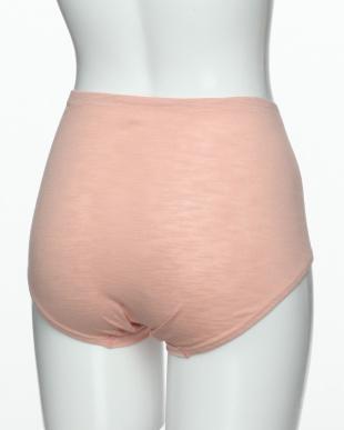 ピンク ふわりと身生地綿100% 1分丈ショーツを見る