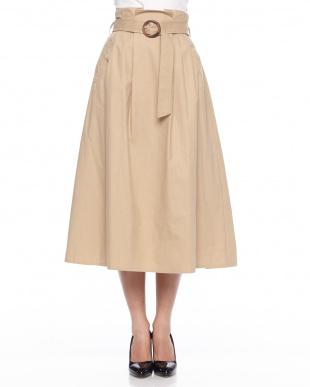 カーキグリーン ◎バックポイントスカートを見る