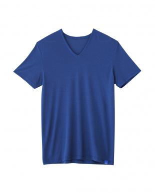 ブル-×2 VネックTシャツ 2セットを見る