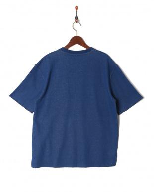 NAVY ダブルフェイスポケTシャツを見る